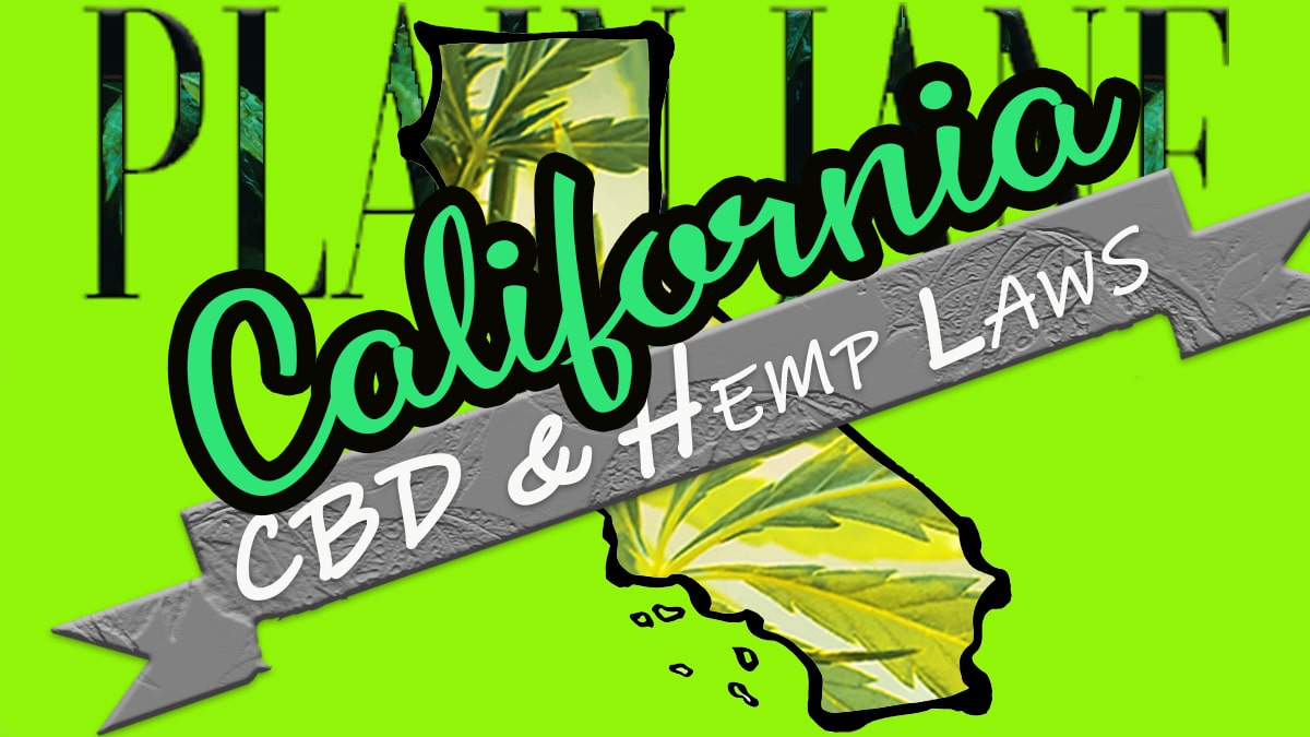 is cbd legal in california?