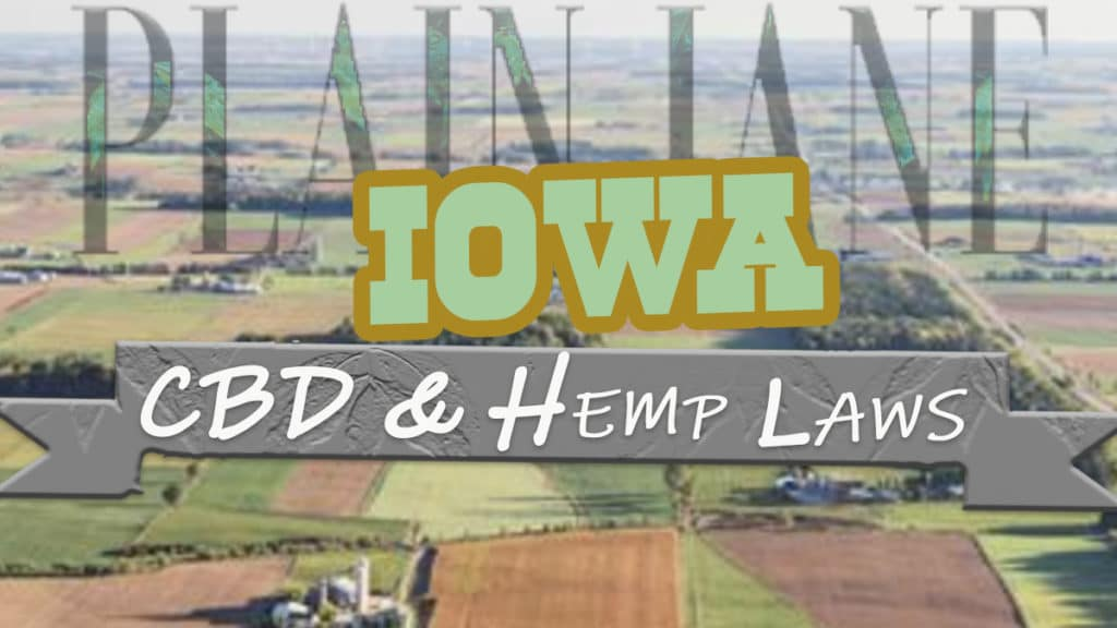 is CBD legal in Iowa?