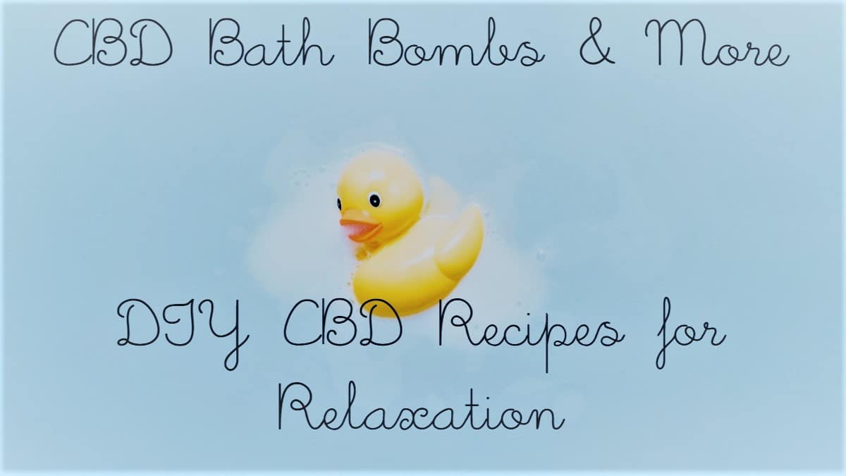 diy cbd bath bomb recipe