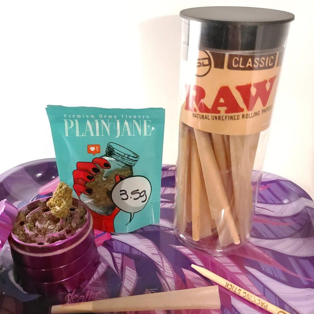 supplies for making cbd preroll joints