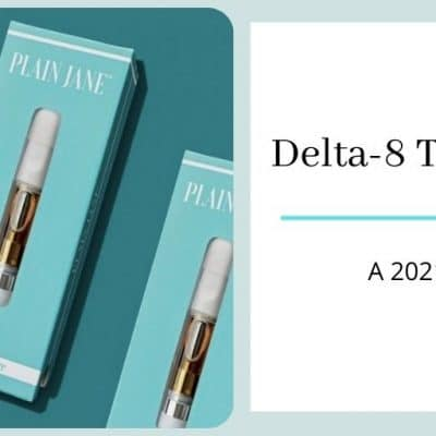 Plain Jane Delta-8 THC vape cartridge